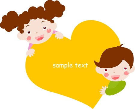 boy and girl,Valentine  s Day Stock Vector - 16497417
