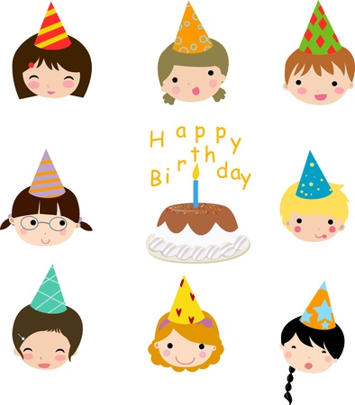 Birthday celebration  Vector