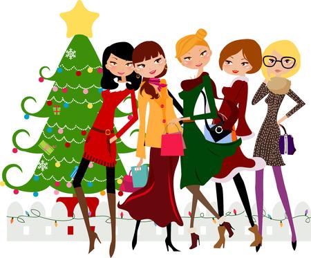 クリスマスの買い物