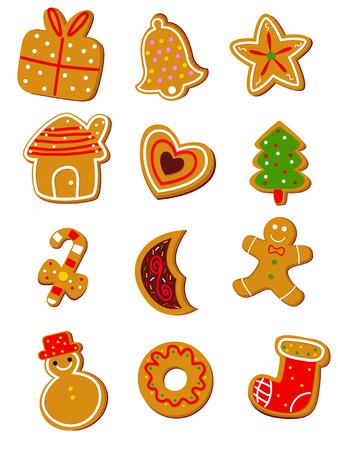 gingerbread cake: Christmas Cookies