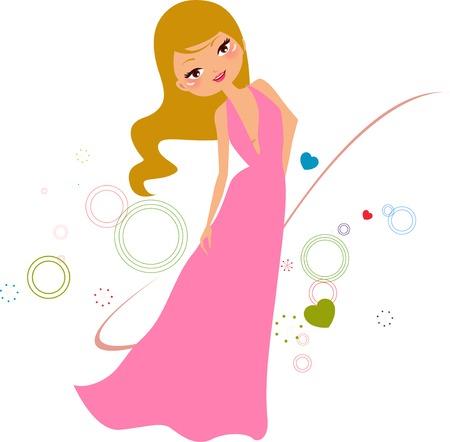 beauty queen: Fashion girl