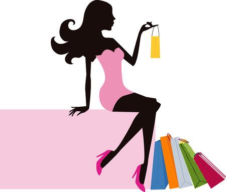 shopping girl a