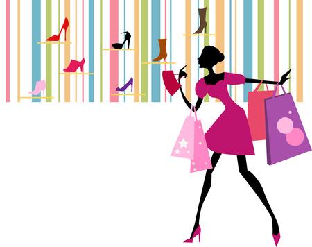 good break: compras ni�a Vectores