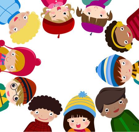 Enfants heureux Banque d'images - 32410663