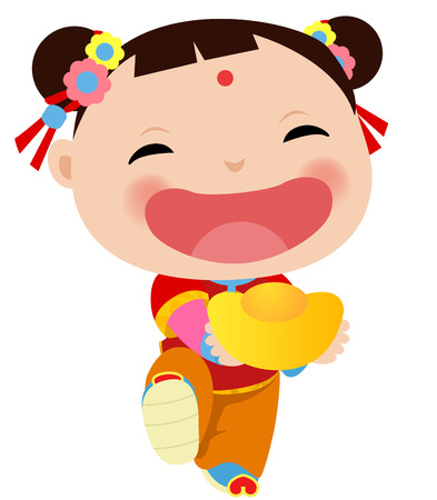 Chinese Girl - Happy Chinese New Year