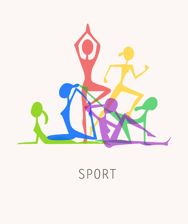 Yoga Ilustração