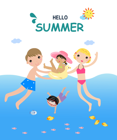 Hello summer Ilustração