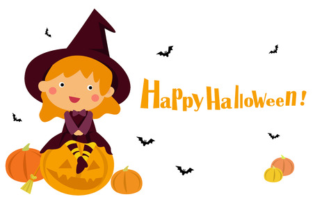 halloween witch Ilustração