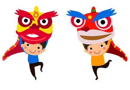 Happy Chinese New YearLion Dance