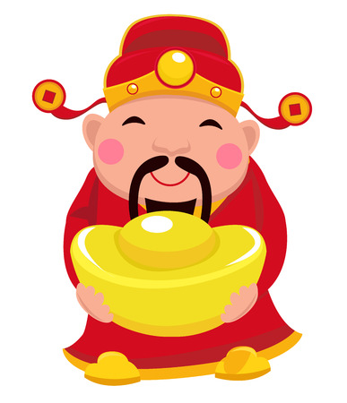 chinese ethnicity: Chinese God of Wealth.