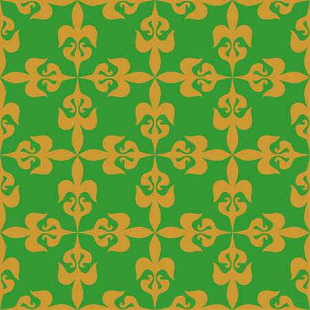 lux: Seamless pattern with classic elements Illustration