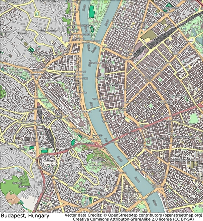 historic world event: Budapest Hungary aerial view