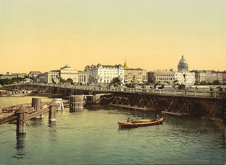 historic world event: Admiralty Quay, St. Petersburg,Russia
