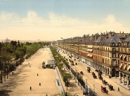rivoli:  Avenue de la opera , Rue de Rivoli,Paris, France