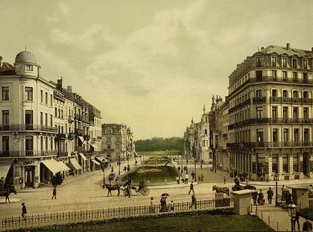 Avenue Leopold, Ostend, Belgium