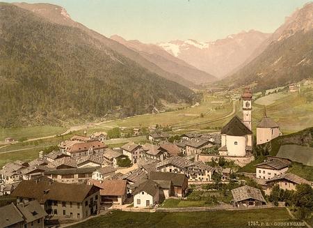Brenner Railway, Gossensass, Tyrol, Austria