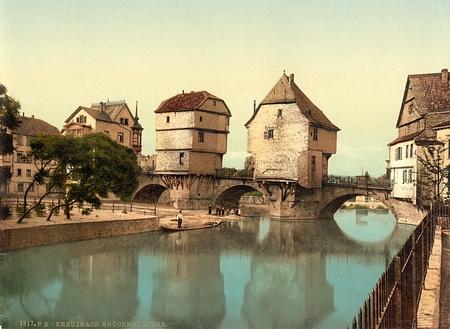 Bridge houses, Bad Kreuznach, Germany