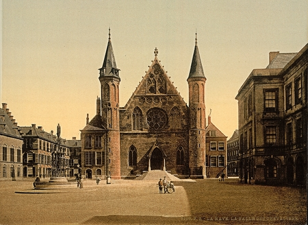 The Knights Hall, Hague,Netherlands 報道画像