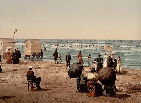 Blankenberge, by the beach