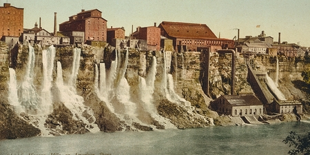 Niagara, mills on American shore 新闻类图片