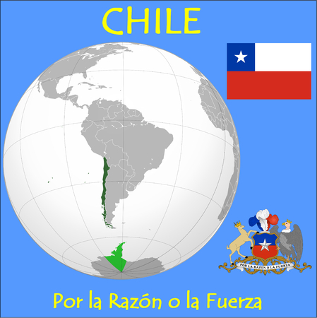 Chile location emblem motto