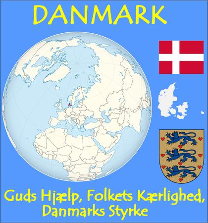 conurbation: Denmark location emblem lmotto