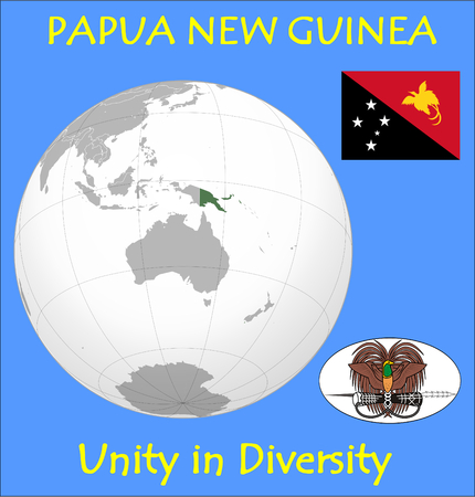 renminbi: Papua New Guinea location emblem motto