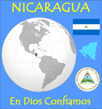 megacity: Nicaragua location emblem motto