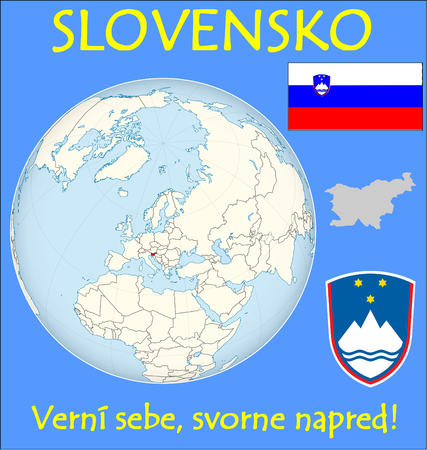 conurbation: Slovenia location emblem motto