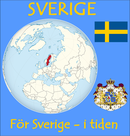 historic world event: Sweden location emblem motto