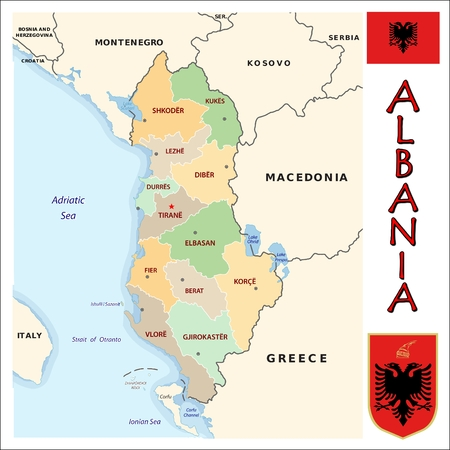 divisions: Albania administrative divisions