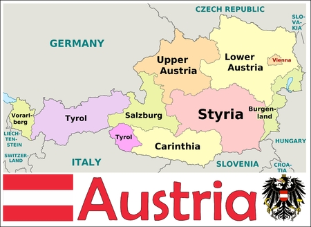 administrativo: Divisiones administrativas Austria
