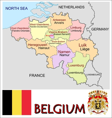 administrative divisions: Belgium administrative divisions