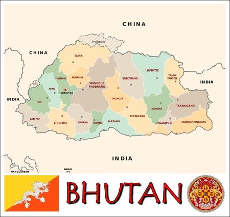 administrative divisions: Bhutan administrative divisions