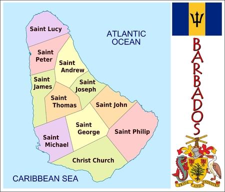 Barbados administrative divisions