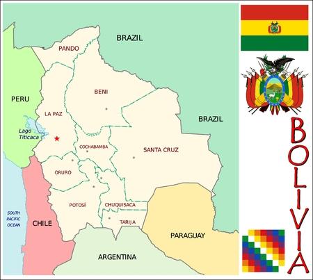 administrative divisions: Bolivia administrative divisions
