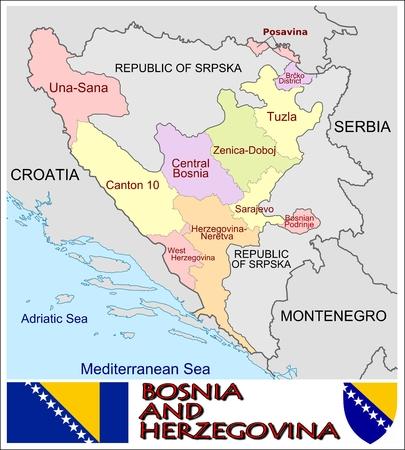 マルタの地方行政区画のイラスト...
