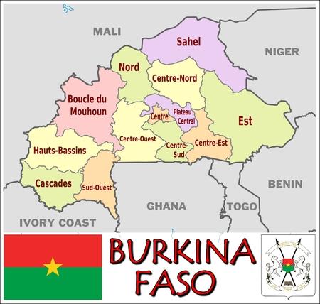 administrative: Burkina Faso administrative divisions