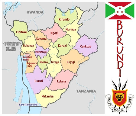 administrative divisions: Burundi administrative divisions