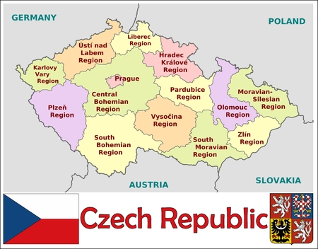 divisions: Czech Republic administrative divisions