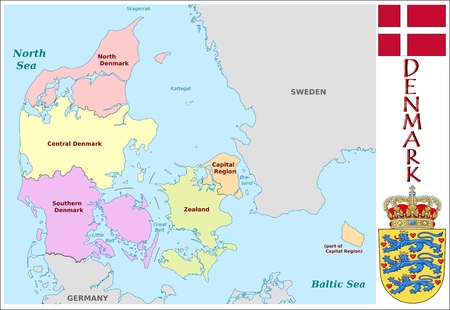 administrative divisions: Denmark administrative divisions