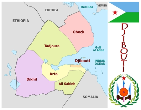 divisions: Djibouti administrative divisions Illustration