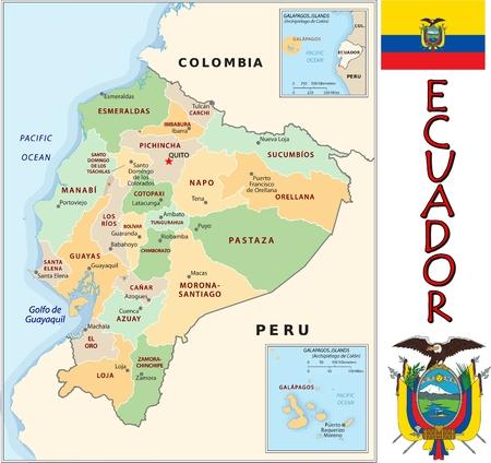 Ecuador administrative divisions