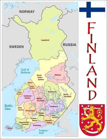 administrative divisions: Finland administrative divisions