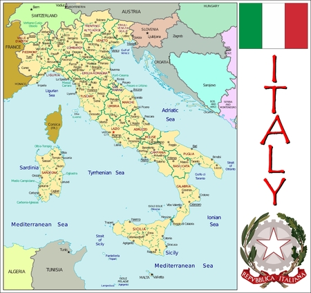 divisions: Italy administrative divisions