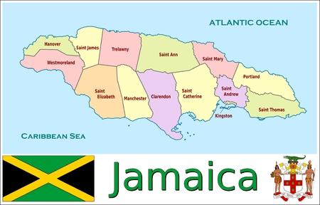 administrative divisions: Jamaica administrative divisions