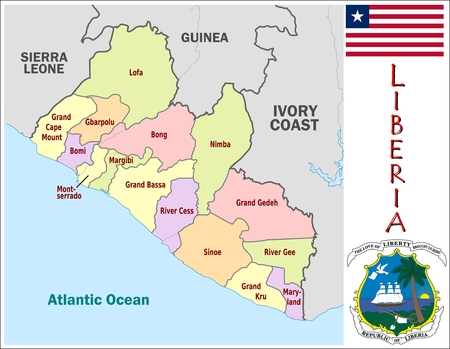administrative divisions: Liberia administrative divisions