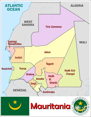 administrative divisions: Mauritania administrative divisions