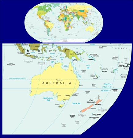 constitutional: World Oceania political