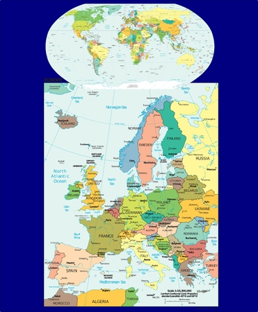 World Europe political